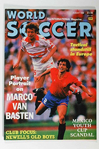AUG 1988 World Soccer Magazine - Marco Van Basten