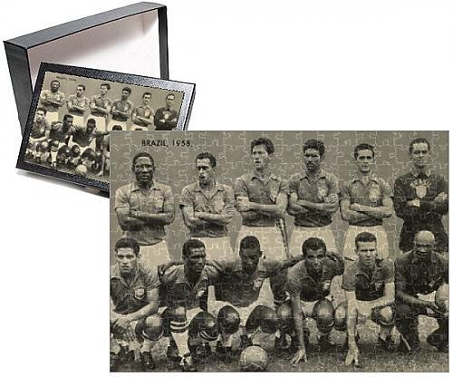 Photo Jigsaw Puzzle of Brazilian Football Team of the 1958 World Cup