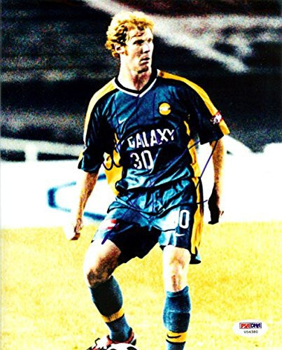 Alexi Lalas Autographed Photo