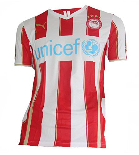 2013-14 Olympiakos Puma Home Football Shirt