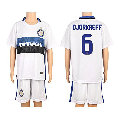 White #6 Djorkaeff Inter Milan Away Jersey (2015/16)