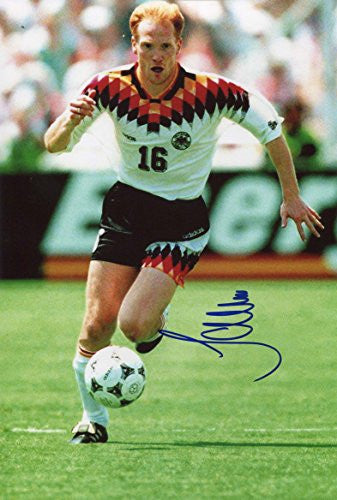 Matthias Sammer GERMAN FOOTBALLER autograph, IP signed photo