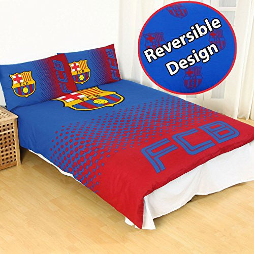 FC Barcelona Double Full Duvet Cover and Pillowcase Set