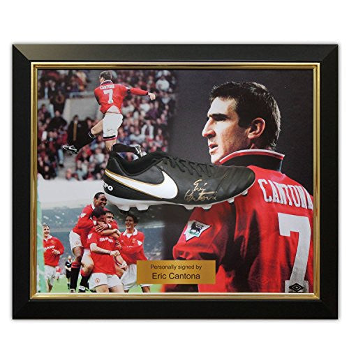 Eric Cantona Signed Football Boot