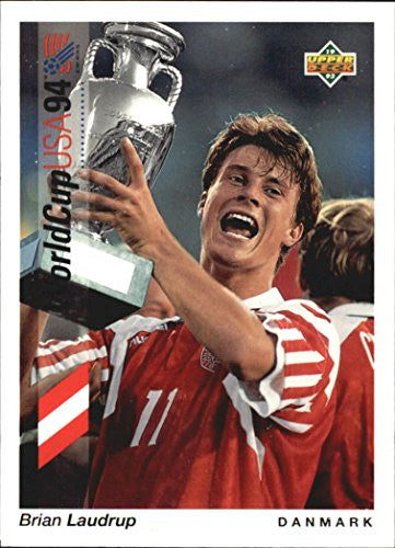1993 Upper Deck World Cup 94 Preview English/Spanish #77 Brian Laudrup