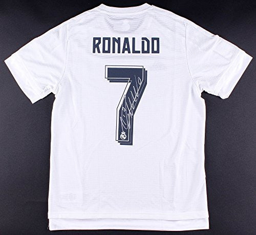 CRISTIANO RONALDO Signed Real Madrid 2014-15 Jersey ICONS