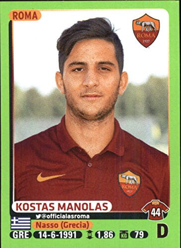 2014-15 Panini Calciatori Stickers #396 Kostas Manolas - NM-MT