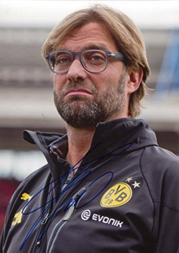 Jürgen Klopp BVB autograph, IP signed photo
