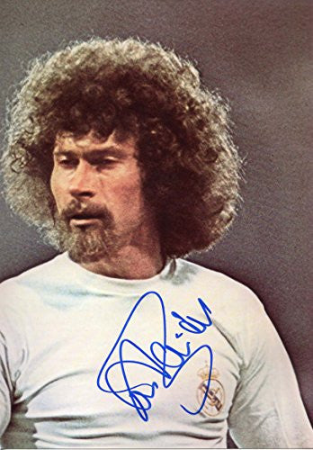 Paul Breitner autograph, In-Person signed photo