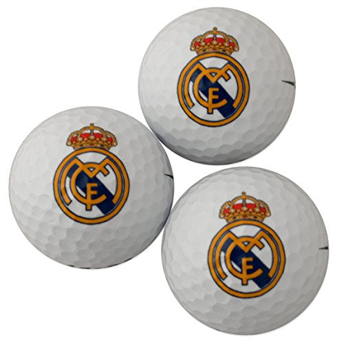 Real Madrid Golf Ball Gift Pack