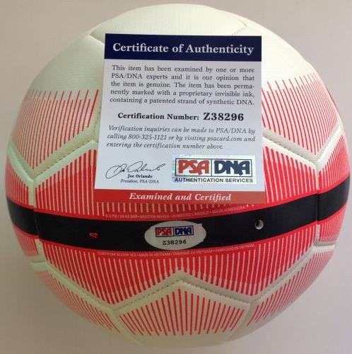Alex Ferguson Signed Soccer Ball Autographed COA Manchester United Nike - PSA/DNA Certified - Autographed Soccer Balls
