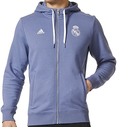 Real Madrid 3Stripes Soccer Hoodie