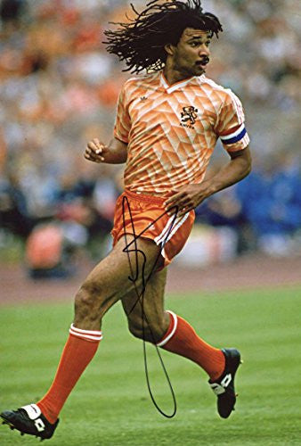 Ruud Gullit Autograph, In-Person signed photo
