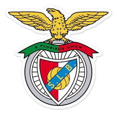 "SL Benfica Car Sticker - 4"" - Vinyl Decal"