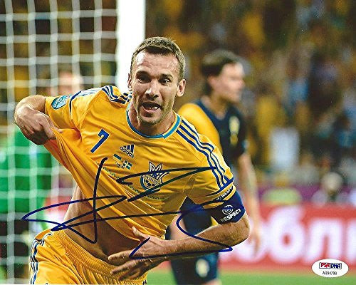 Andriy Shevchenko Signed Photo