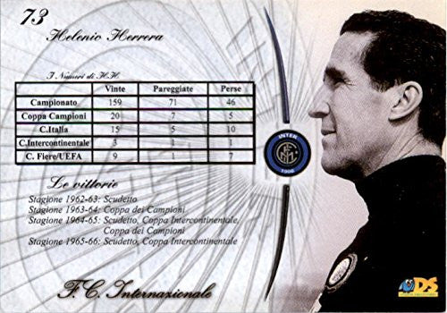 2000 Inter Milan DS #73 Helenio Herrera - NM-MT