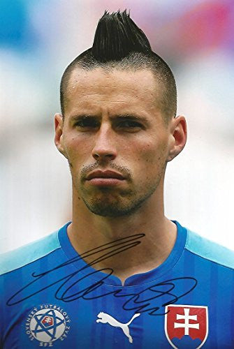 Marek Hamšík autographed, In-Person signed photo