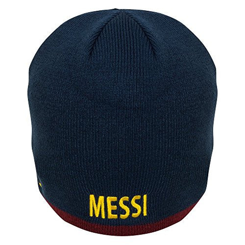 FC Barcelona Authentic Messi Knitted Hat