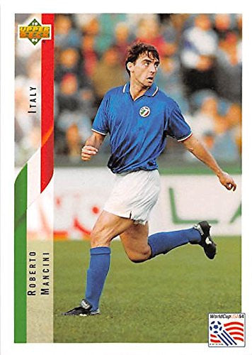 Roberto Mancini Trading Card 1994 Upper Deck #152