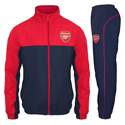Arsenal FC Mens Jacket Tracksuit Set