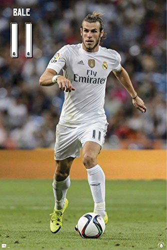 Real Madrid - Garreth Bale #11 Poster