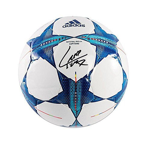 Luis Suarez Signed UEFA Champions League Football Autographed