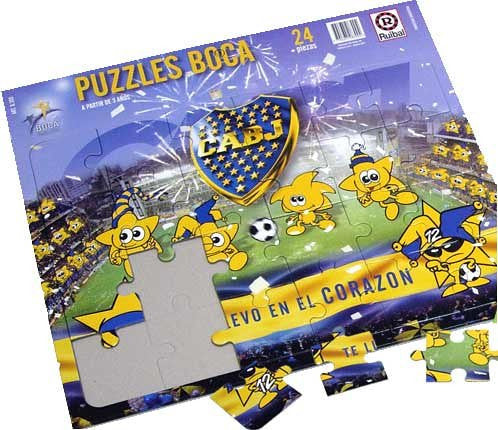 Boca Juniors Rompecabezas - Puzzle 24 Pieces