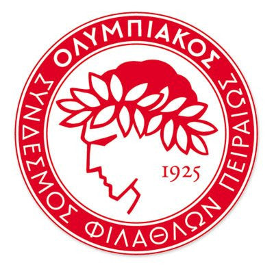 Olympiakos CFP - Greece Football Soccer Futbol - Car Sticker - 4""