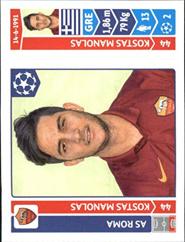 2014-15 Panini UEFA Champions League Stickers #401 Kostas Manolas - NM-MT