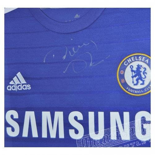 Signed Diego Costa Chelsea FC Framed Football Shirt - Autographed Jerseys