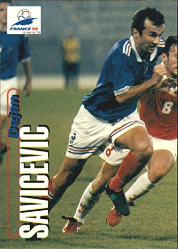 1998 Panini World Cup #66 Dejan Savicevic - NM-MT