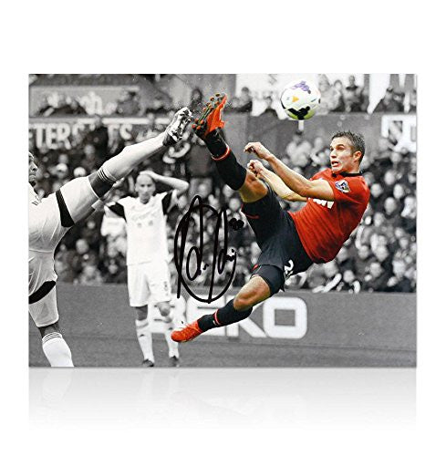 Robin Van Persie Signed Photo - Autographed Photos