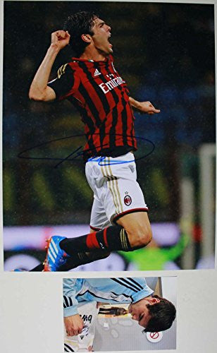 Kaka Signed Autographed Glossy 11x14 Photo - COA Matching Holograms