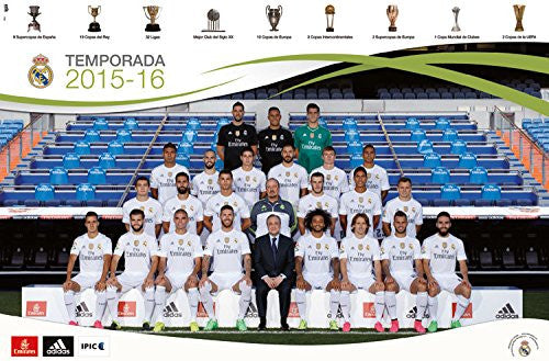 Real Madrid Team Wall Poster