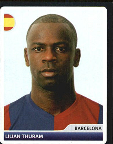 2006-07 Panini UEFA Champions League Stickers #8 Lilian Thuram - NM-MT