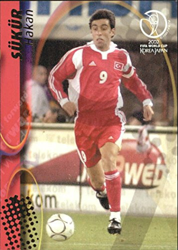 2002 Panini World Cup #109 Hakan Sükür - NM-MT