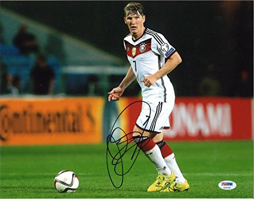 Autographed Bastian Schweinsteiger Germany Photo