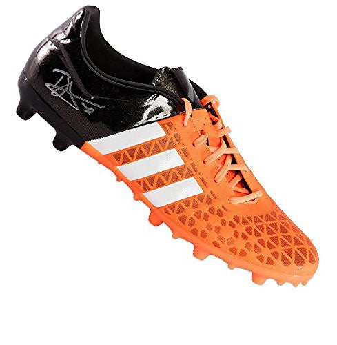 Dele Alli Signed Autograph Football Boot - Adidas Ace 15.3 Orange& Black