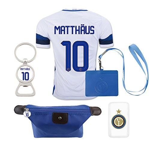 #10 Matthaus (6 in 1 Combo) Inter Milan Away Jersey 2016-17