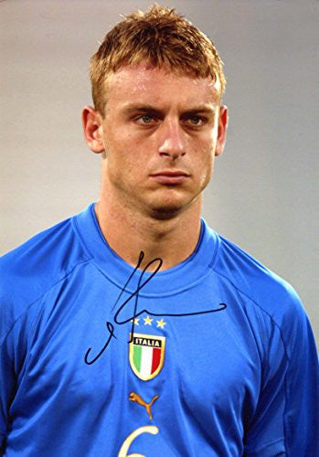 Daniele de Rossi ITALIAN autograph, IP signed photo
