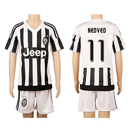White & Black #11 Nedved Home Kids Youth Jersey (2015/16)