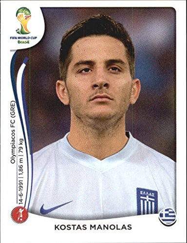 2014 Panini World Cup Stickers #211 Kostas Manolas