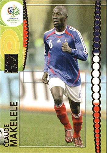 2006 Panini World Cup #104 Claude Makelele - NM-MT