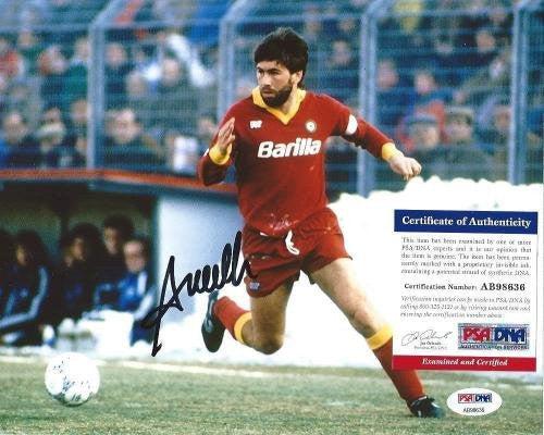 BAYERN MUNICH CARLO ANCELOTTI signed autographed 8x10 PHOTO COA! - PSA/DNA Certified - Autographed Soccer Photos