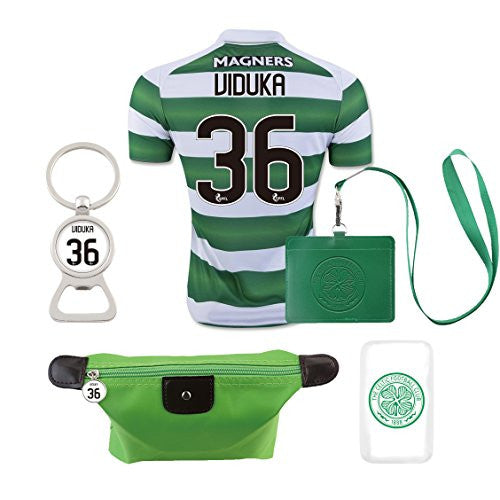 #36 Celtic Viduka 2016-17 Home Jersey & 5 Gifts