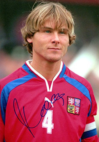 Pavel Nedved CZECH autograph, IP signed photo