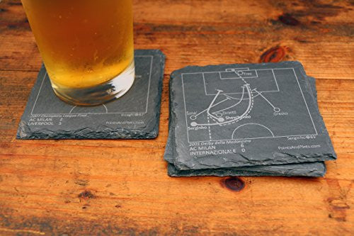 AC Milan Greatest Plays Coasters