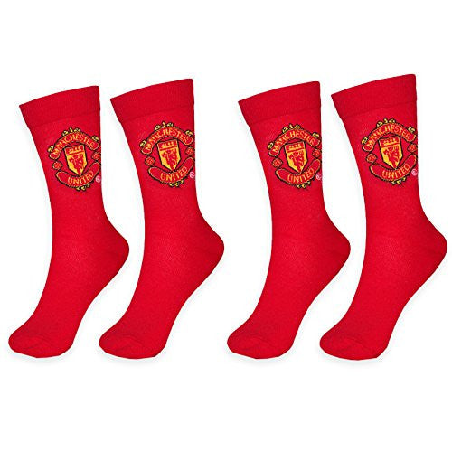 Manchester United Football Club 2 Pack of Socks