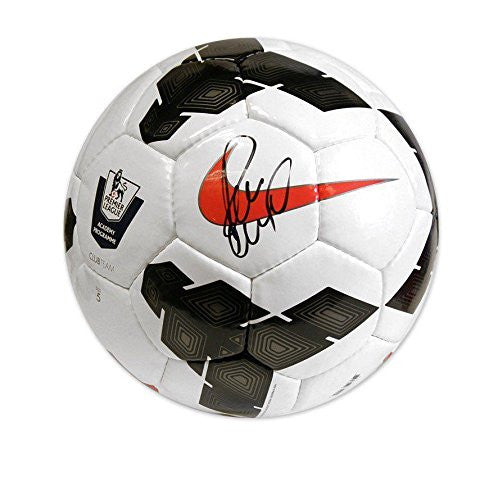 Paul Scholes Hand Signed Football - Premier League Autographed