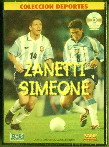 ARGENTINA JAVIER ZANETTI AND DIEGO SIMEONE DVD FACTORY SEALED
